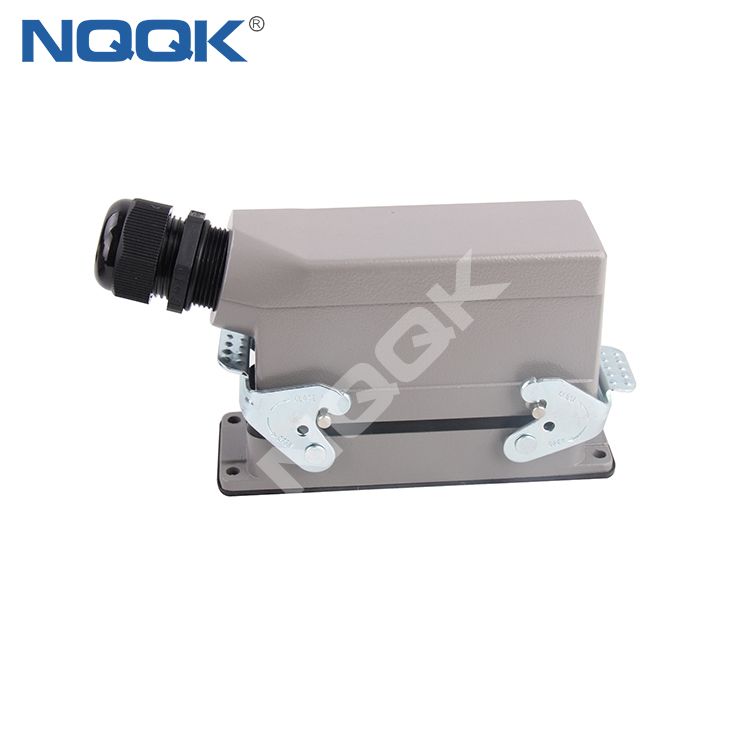24 pin Electrical cable connectors 24 wire heavy duty industrial connector for robot