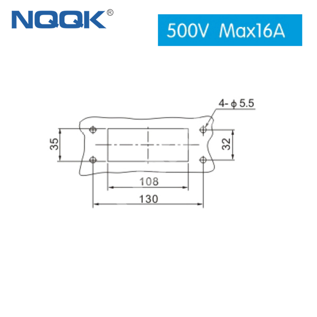 (HDC-HE-16/4-04D) 500V 16 pin and 4 pin 20 pin electrical plug connector heavy duty connector