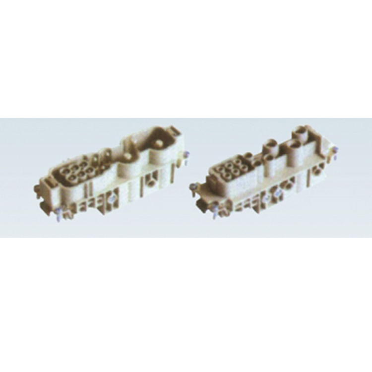 HWK 4/6-010-M 10 pins industrial female male High Current Heavy Duty Electrical Connector