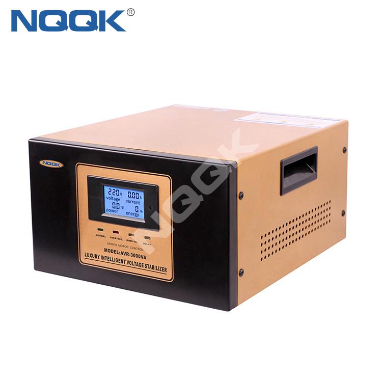 AVR 3KVA / 5KVA Servo Type 1Phase Series Voltage Regulator Voltage Stabilizer