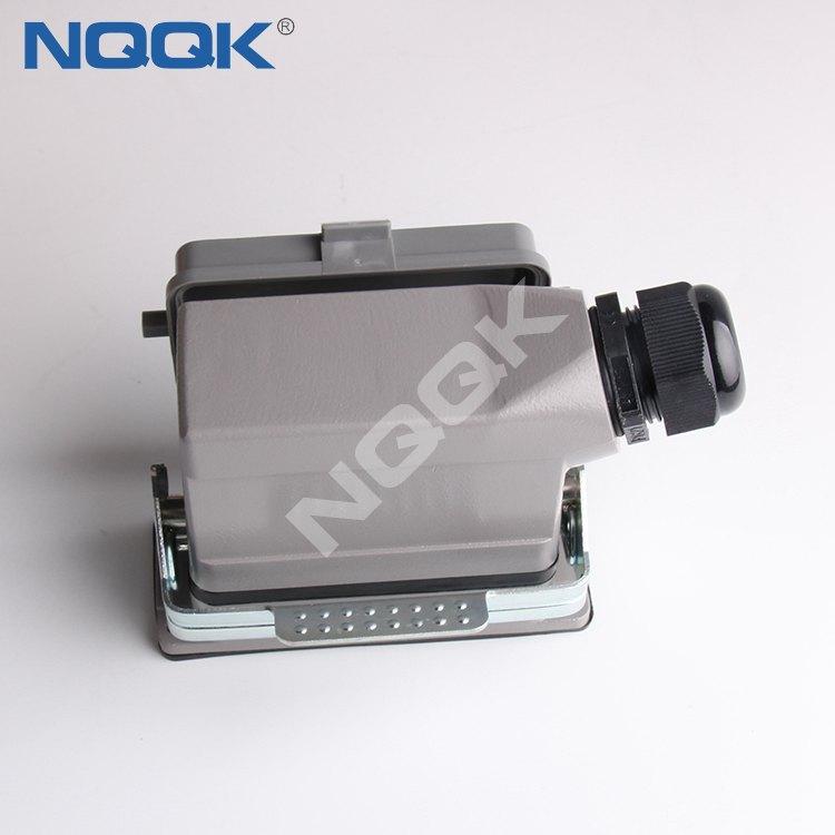 NQQK nqqkelc 16 pin surface mounted heavy duty electrical pin connector