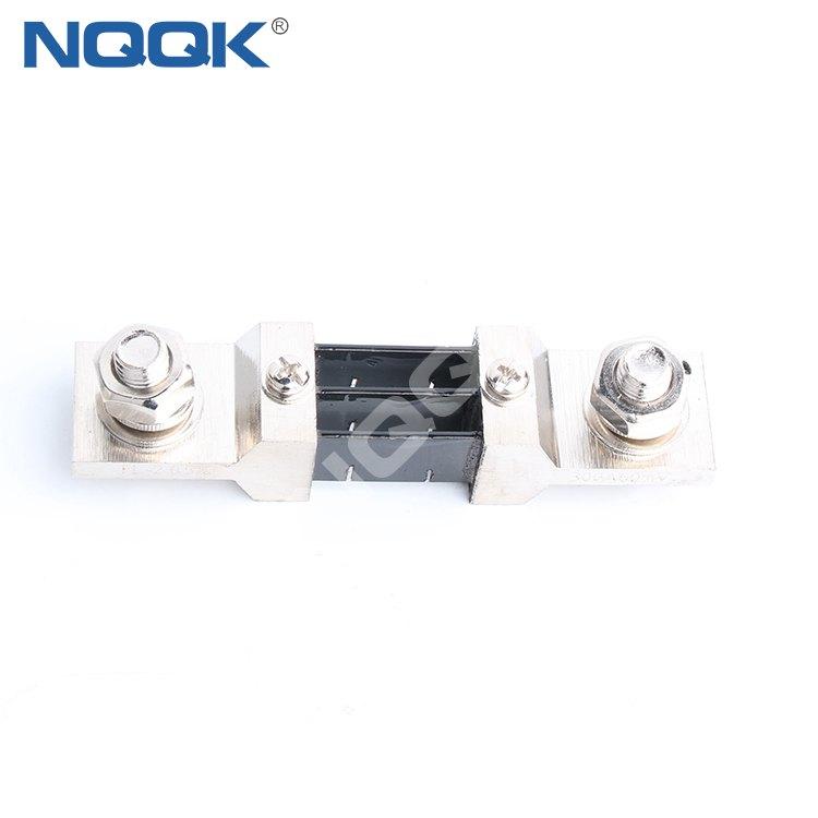 nickel plating dc shunt resistor 300A 55mV Resistance shunt