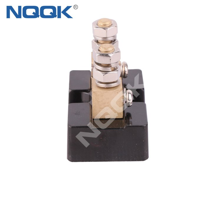 100A 50mV base Mounted dc current shunt resistor for Current Analogue Panel Meter