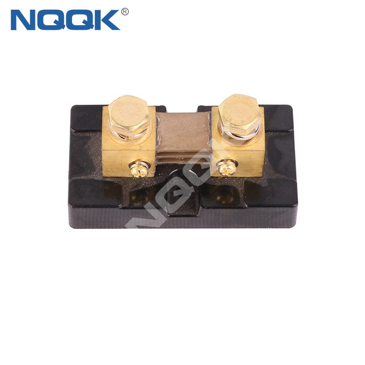 FL USA type 300A 50mV DC brass Electric current Shunt Resistors with base
