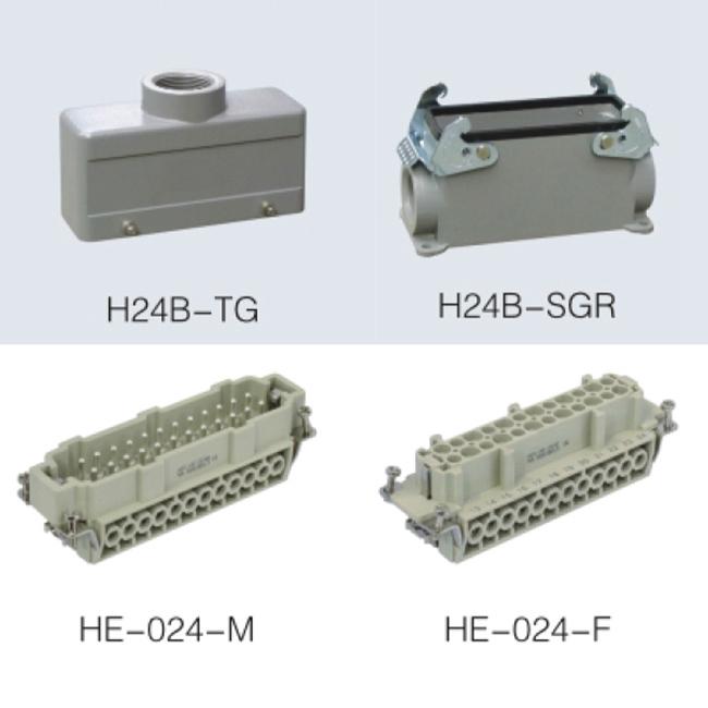 HE-024-F HE 48 pin heavy duty Connector insert