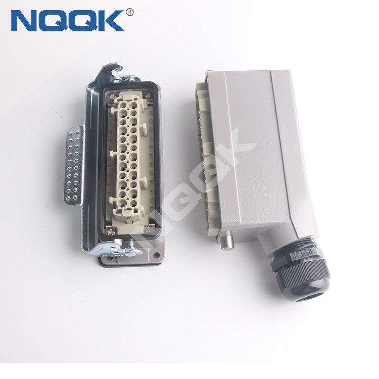 09 14 002 3002 10 A Crimp module rectangle industrial heavy duty connector