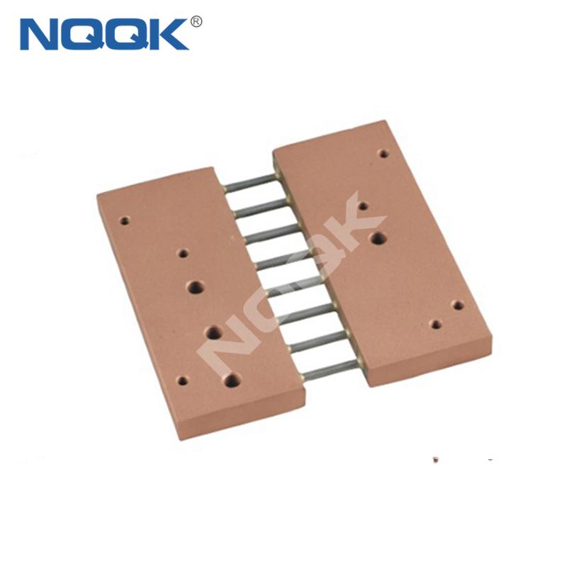 TK-6 Turkey type 500A 50mV DC Electric current Shunt Resistors for Amp Panel Meter Current Monitor