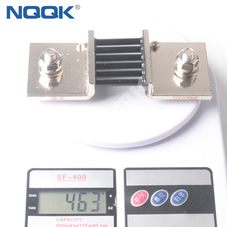 500A 50mV Turkey type Voltmeter Ammeter DC current Manganin shunt resistor