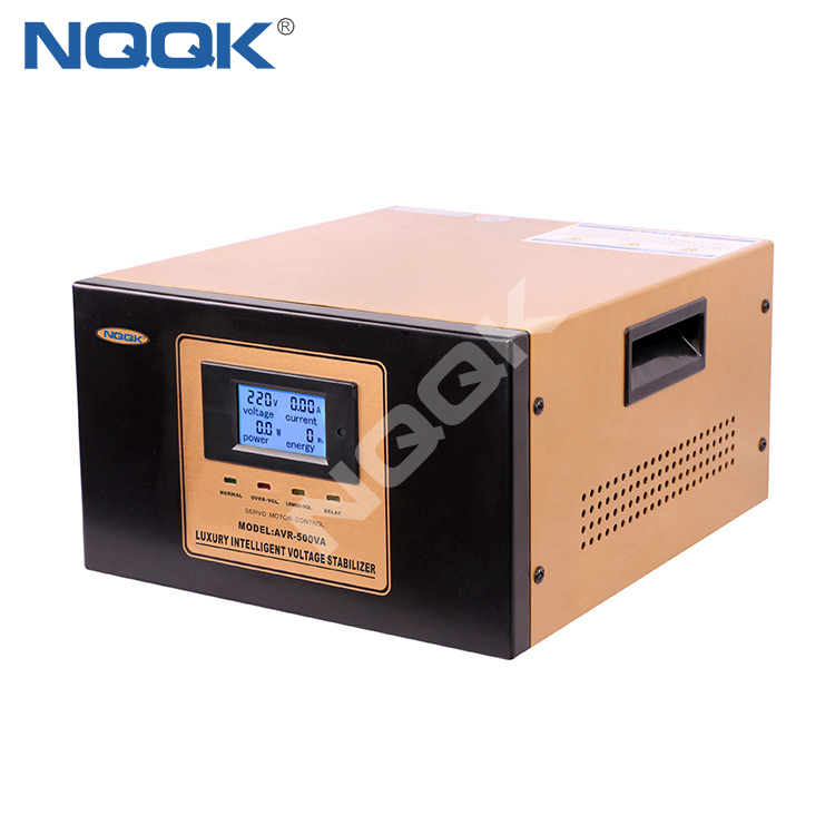 AVR 0.5KVA Servo Type 1Phase Series Voltage Regulator Voltage Stabilizer