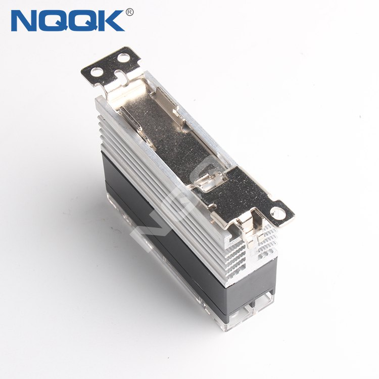china manufacturers Competitive price AC control DC 25 A single phase slim solid state relay with heatsink