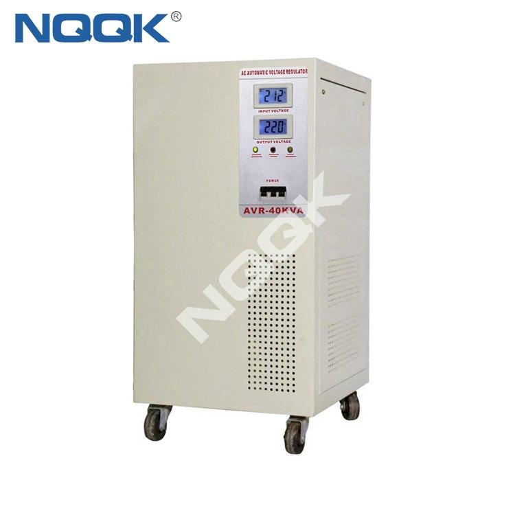 AVR 45KVA / 60KVA Servo Type 1Phase Series Voltage Regulator Voltage Stabilizer