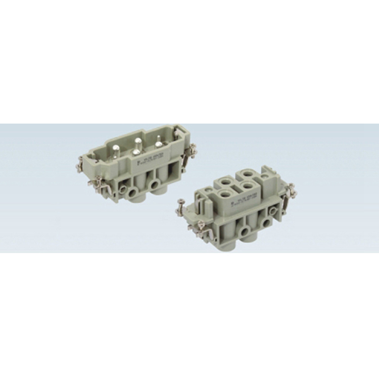 HK4/2-006-M HK4/2-006-F connector 6pin Heavy Duty Electrical Connectors
