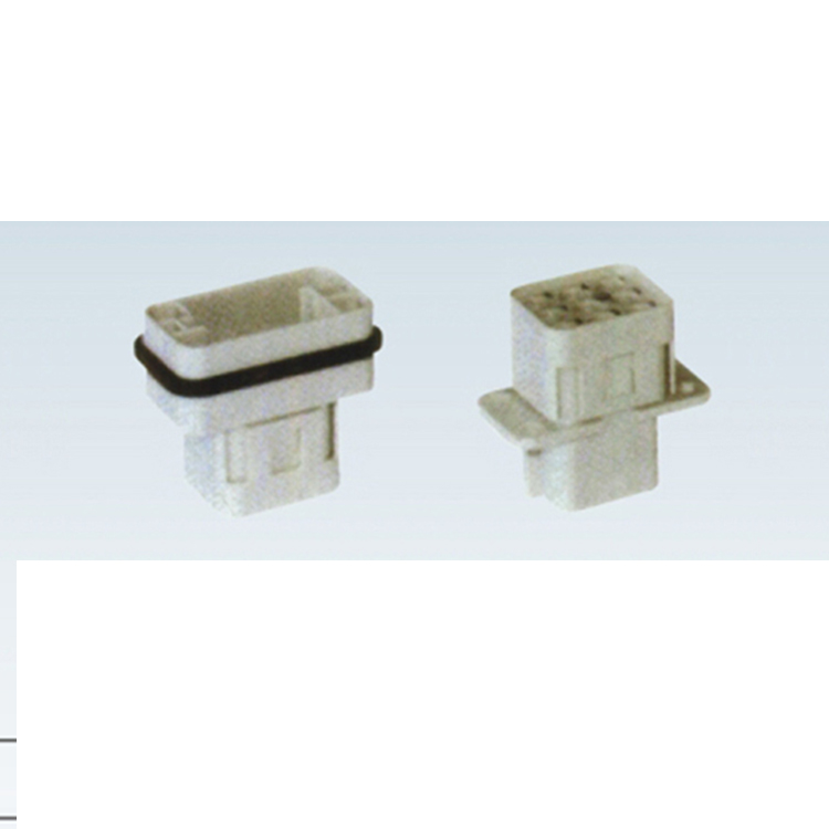 HQ-008-M 16A 400V industrial 8 pin male female connector Heavy Duty Electrical Connectors
