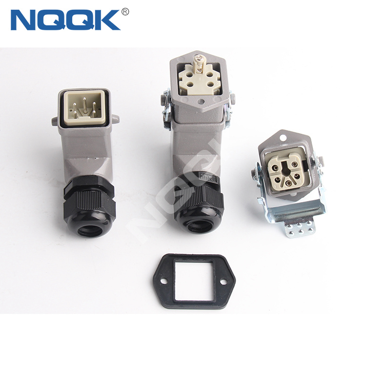 HDC 3 Position top entry waterproof heavy duty industrial connector For robot arm