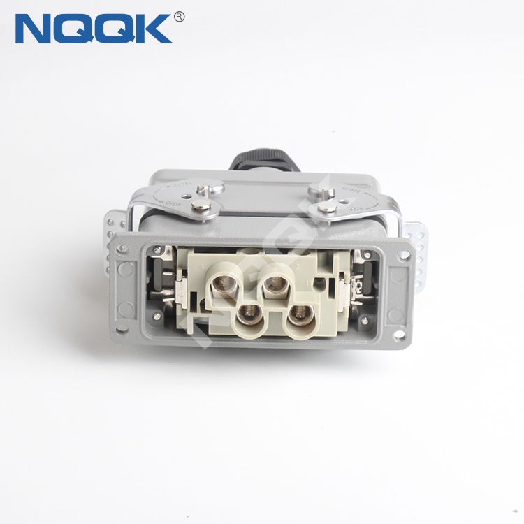 HDC-HK-4-2-006-02S 80A 16A 690V 400V 6pin Heavy Duty Electrical Connectors